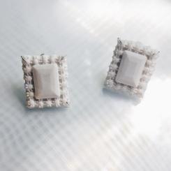 Deborah Tseng Beneath II Marquise Earrings