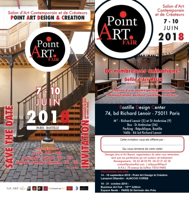 Invitation POINT ART 2018.indd
